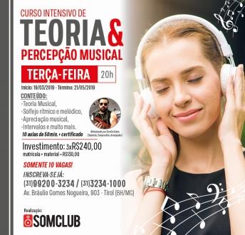 Curso de Teoria e Percepção Musical na Somclub