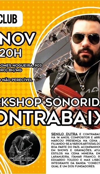 13/11/2018 – WORKSHOP DE SONORIDADE NO CONTRABAIXO